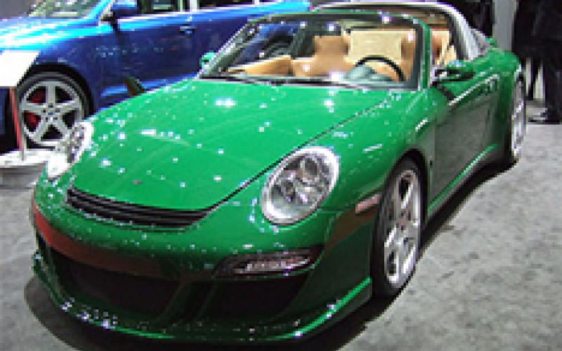 Electric RUF 911 revealed
