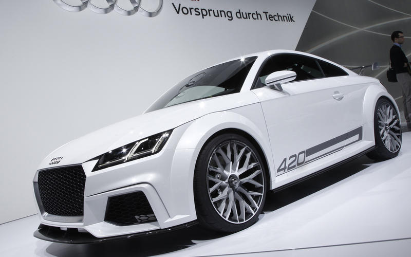 New family car planned as part of expanded Audi TT family