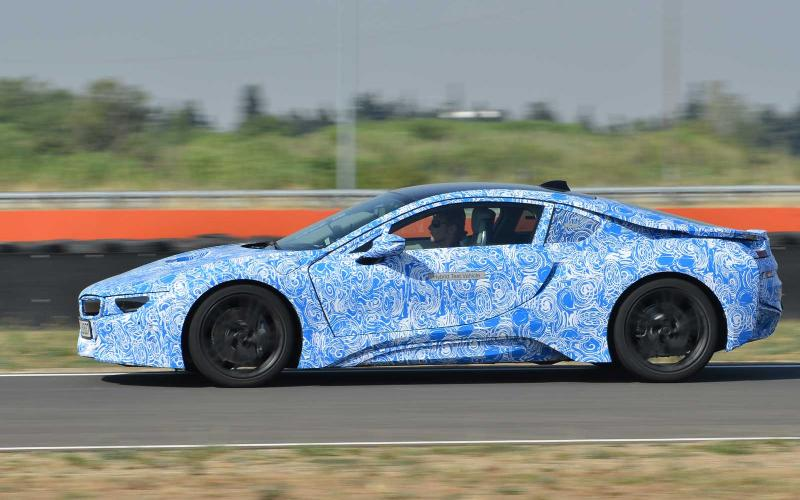 BMW i8 prototype first drive review