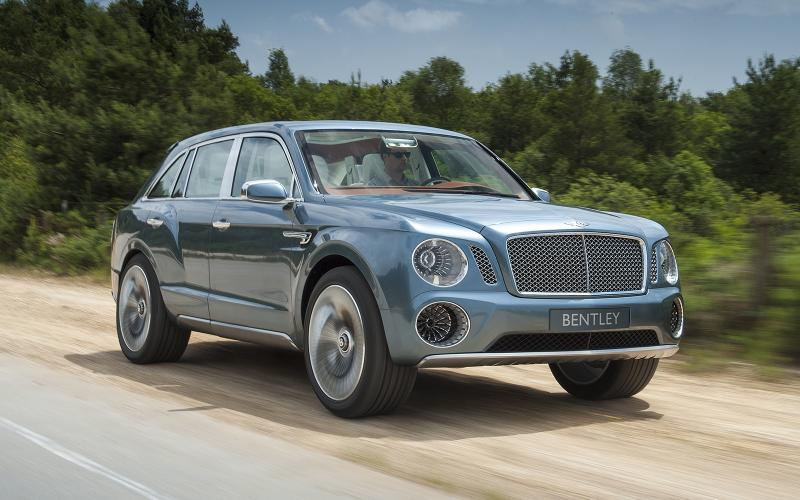 Bentley SUV attracts 2000 advance orders