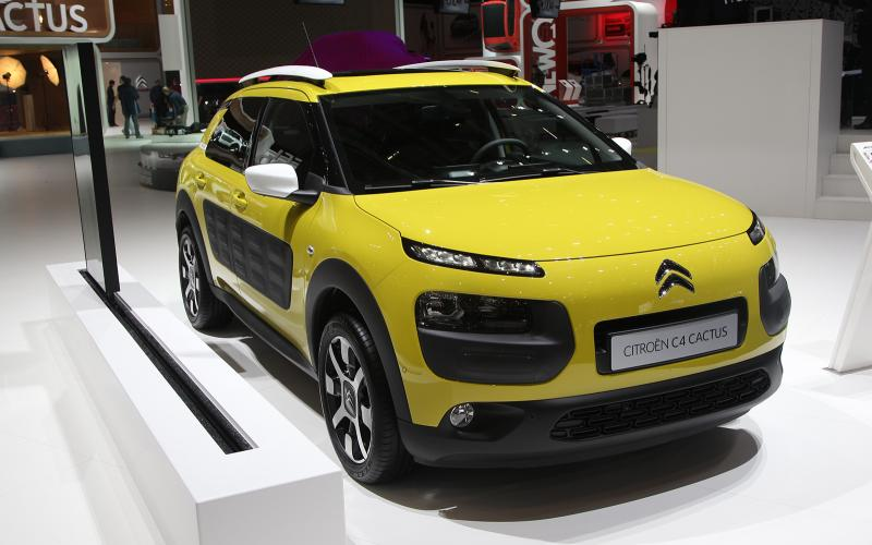 Citroën C4 Cactus gets Geneva debut