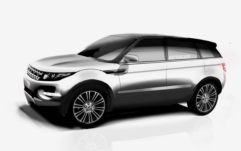 'Range Rover Evoque XL' gets green light from Land Rover