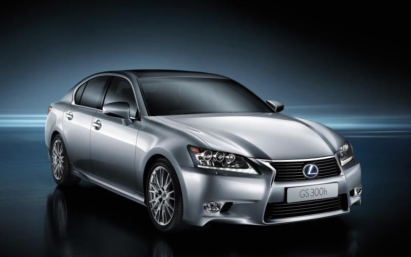 Lexus GS 300h: Shanghai motor show 2013