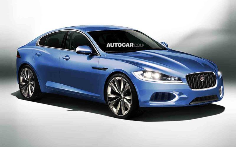 New baby Jaguar saloon design ready