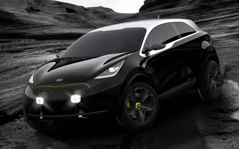 Kia Niro concept for Frankfurt motor show debut