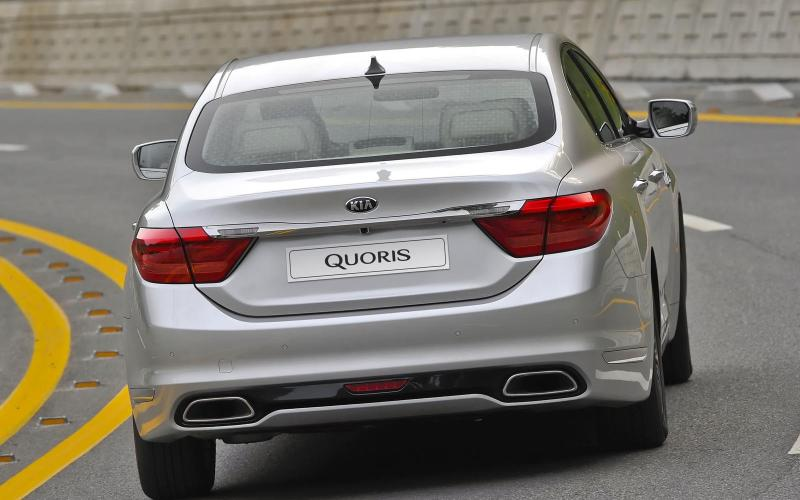 2014 Kia Quoris first drive review