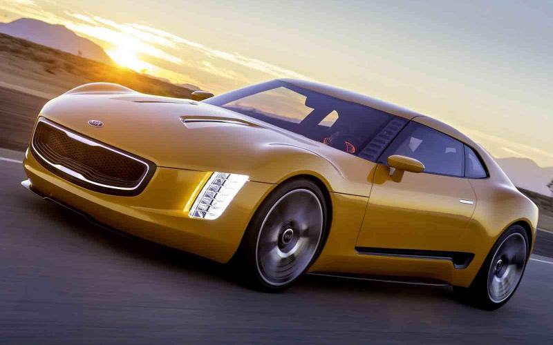 Kia GT4 Stinger concept leaked online - new pictures
