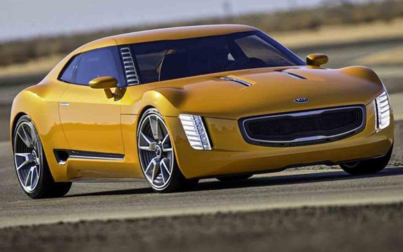 Kia GT4 Stinger concept leaked online