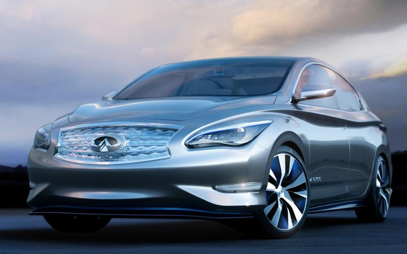 New Infiniti will have completely different exterior and interior to Leaf