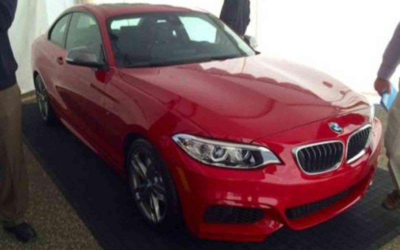 BMW M235i pictures leaked