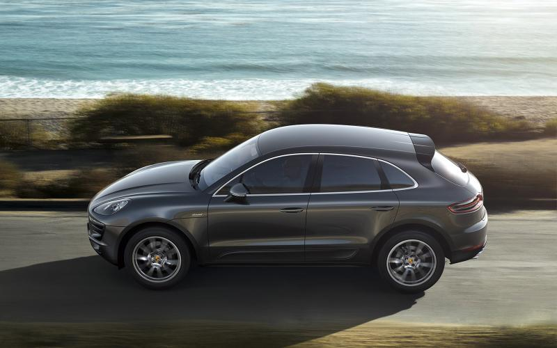 Porsche Macan - first ride