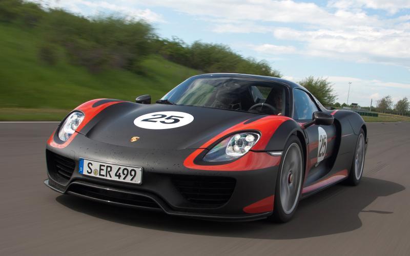 Porsche 918 Spyder confirmed for Frankfurt debut
