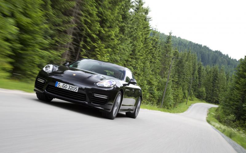 Porsche Panamera Turbo first drive