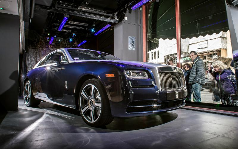 Rolls-Royce Wraith convertible planned; Rolls' SUV doubtful