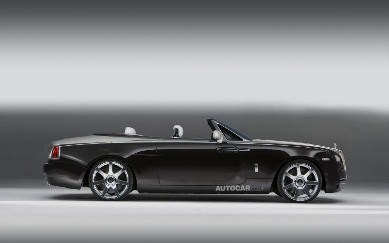 Rolls-Royce Wraith Drophead Coupe confirmed