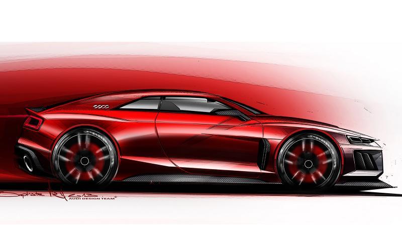 New Audi Quattro concept for Frankfurt