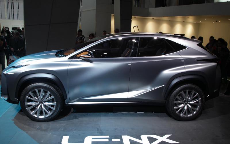 Frankfurt motor show 2013: Lexus LF-NX concept
