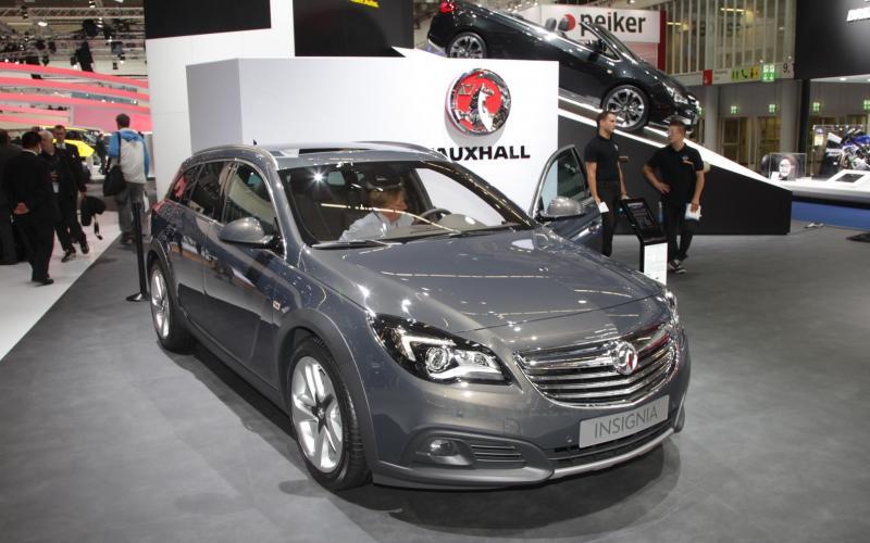 Frankfurt motor show 2013: Vauxhall Insignia Country Tourer
