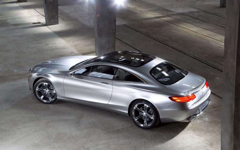 Mercedes' S-class coupe concept 'very close' to production car