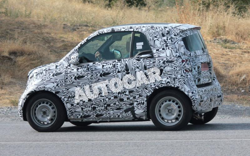 2015 Smart ForTwo spotted in production form