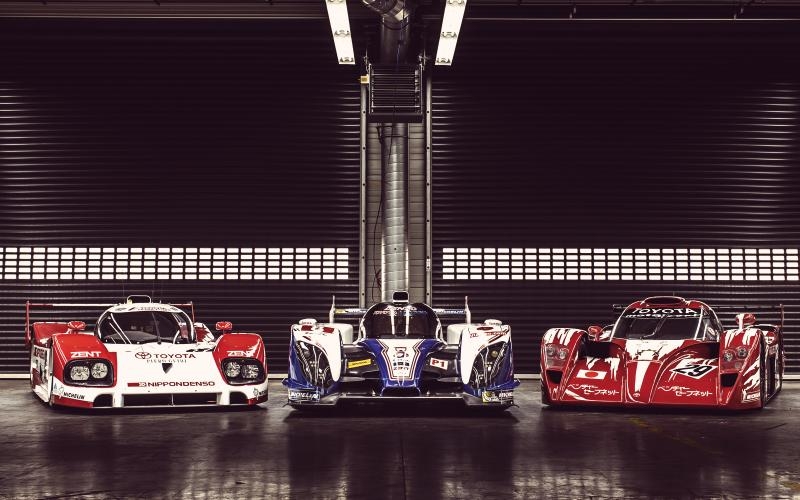 Toyota's Le Mans cars to race at Goodwood