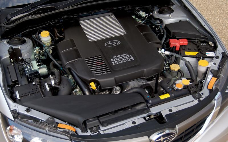 Secrets of Subaru's new diesel engine