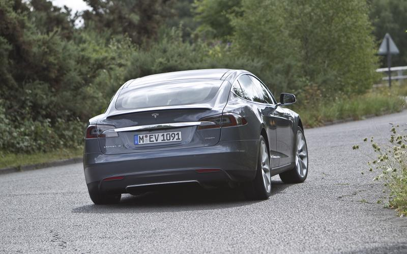 Tesla Model S first drive review