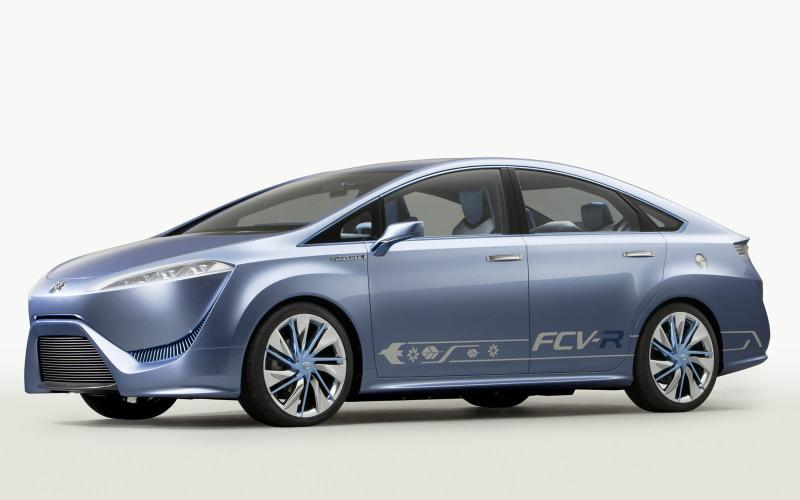 Toyota commits to fuel cell production car for 2015