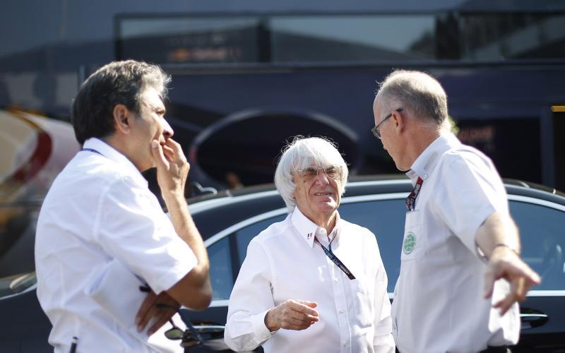 Bernie Ecclestone renounces Nurburgring bid rumours