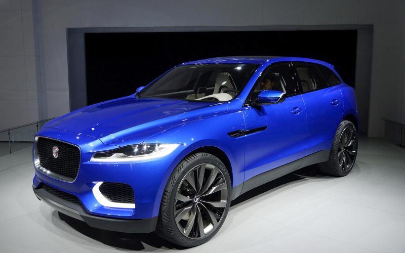 Official: Jaguar C-X17 SUV revealed