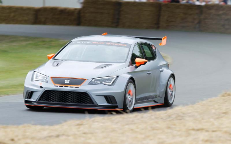 Goodwood Festival of Speed 2013: Seat Leon Cup Racer