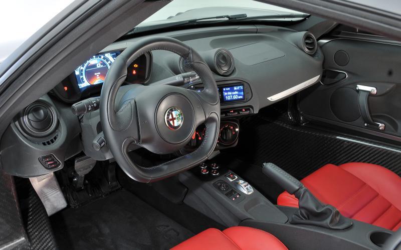 Alfa Romeo 4C to inspire future designs