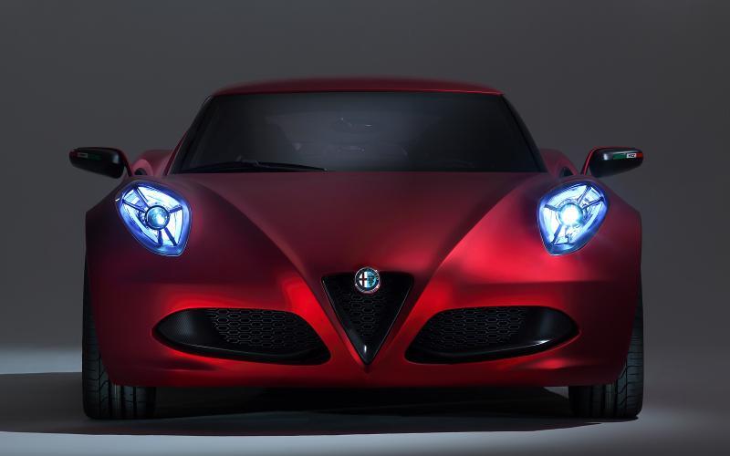 Alfa Romeo 4C - full technical details