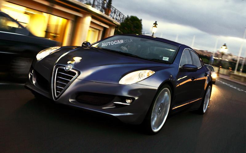 Alfa plans rear-drive flagship