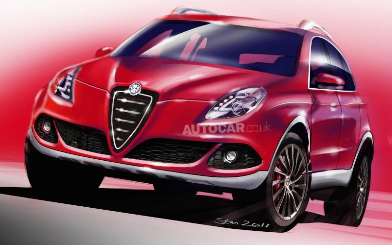 Alfa pins hopes on sporty SUV