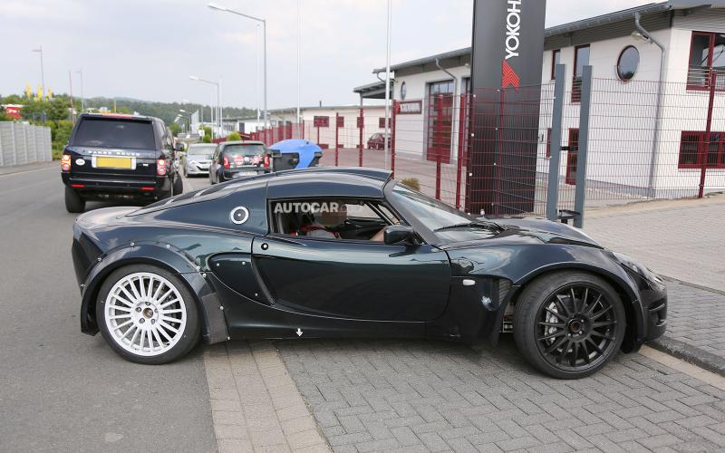 Renault Alpine sports car spotted at Nurburgring
