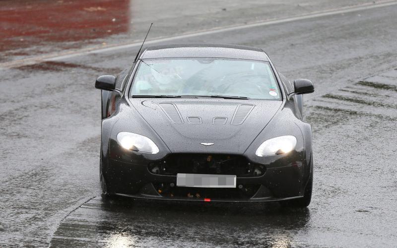 Aston Martin V12 Vantage GT3 begins Nürburgring tests