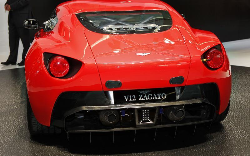 Aston Zagato breaks cover