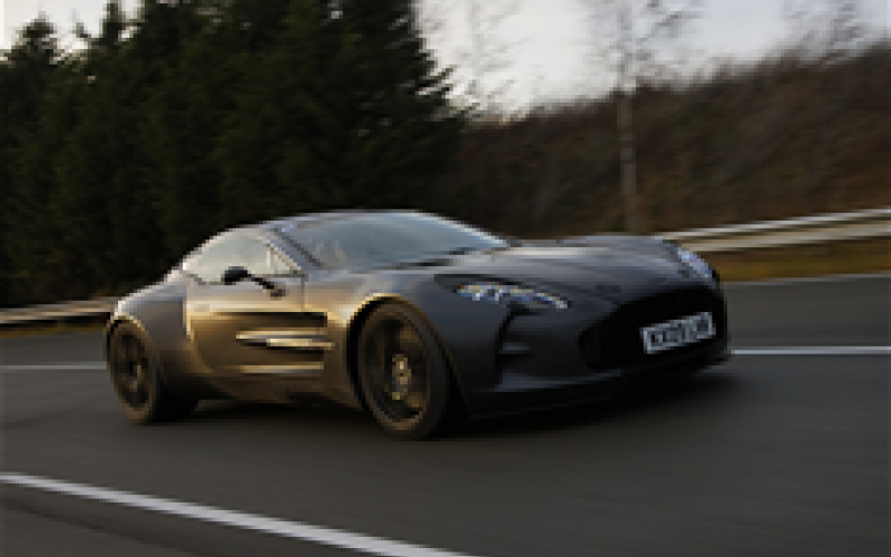 One-77 to be fastest Aston ever