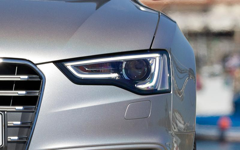 Audi A5 headlight