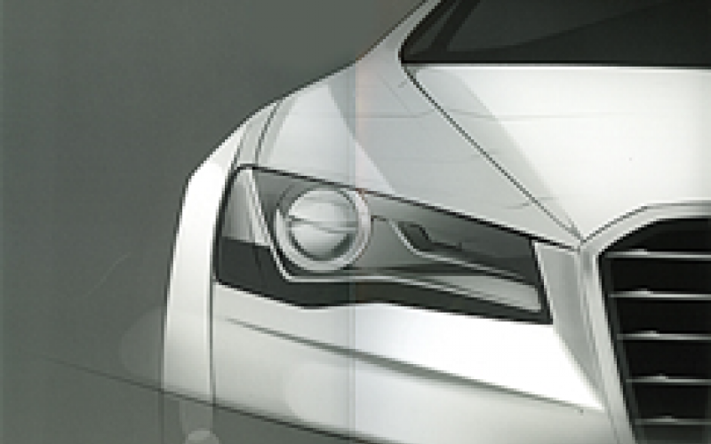 New Audi A8 teaser pictures