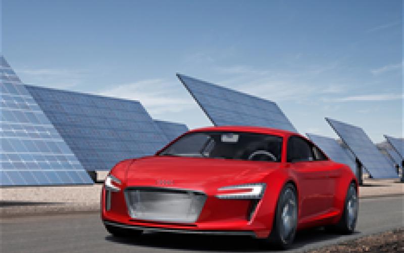 Frankfurt motor show: Audi R8 e-Tron