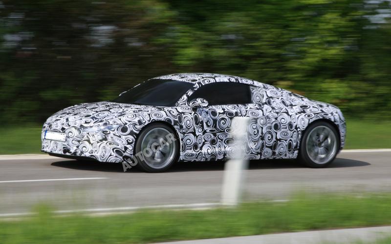 Audi R8 e-tron hits the road