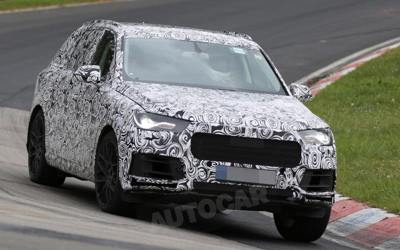 Hot Audi SQ7 to feature new electrically assisted turbocharging system