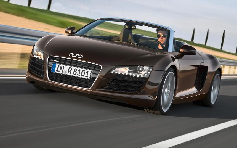 Audi R8 Spyder V8 launched