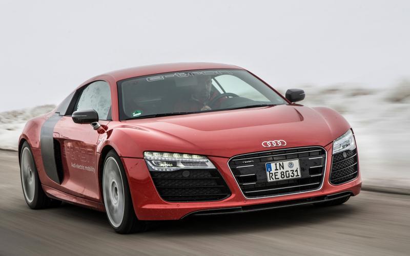 Audi R8 e-tron close to production