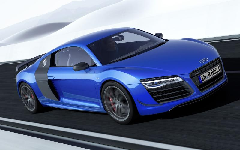 New 562bhp Audi R8 LMX with laser headlamps revealed