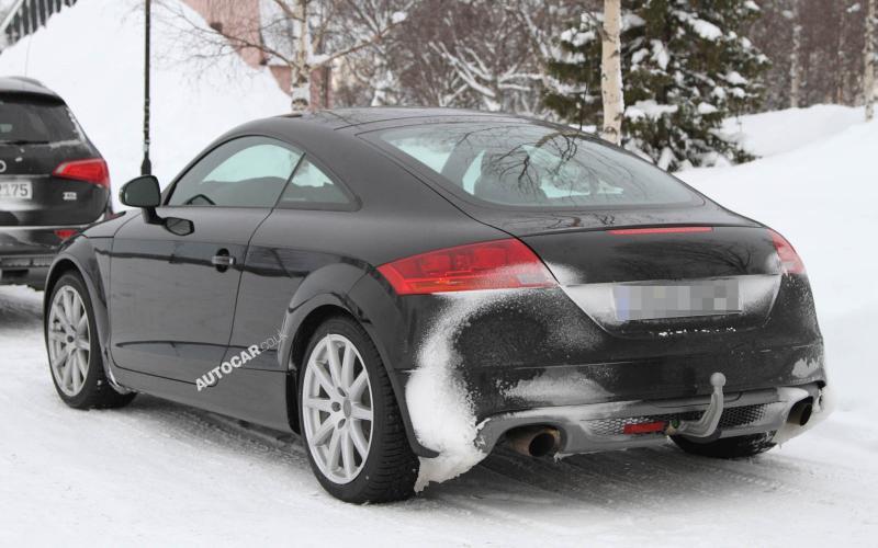 Next Audi TT - first pics