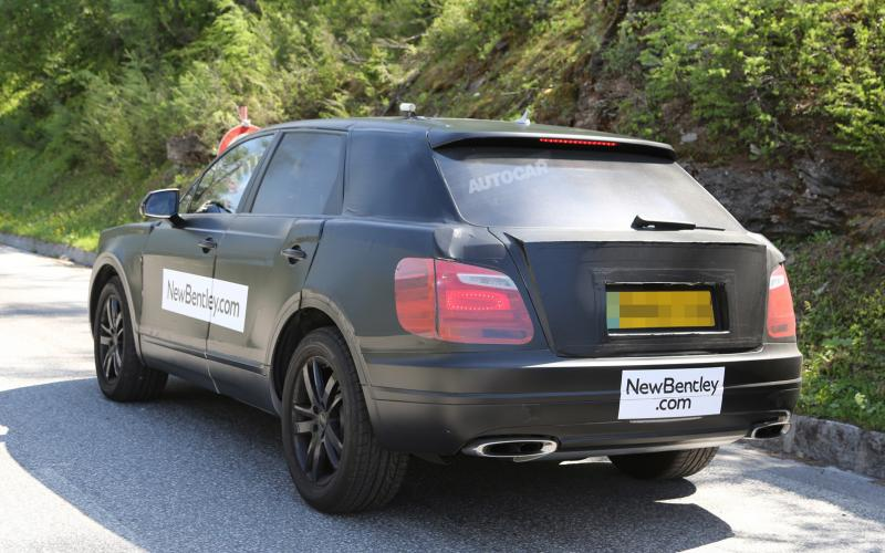 Bentley SUV gets production bodywork in latest spy pictures