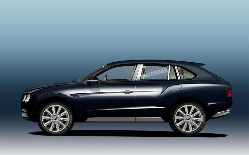 Bentley SUV targets 200mph